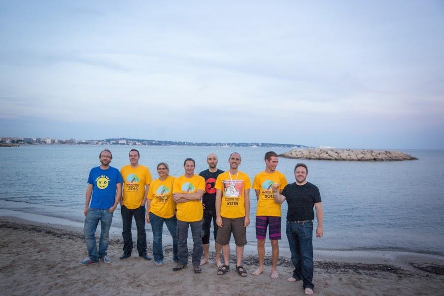 L'équipe d'organisation du Riviera Dev