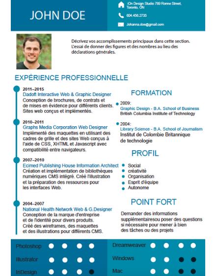 CV ingénieur exemple
