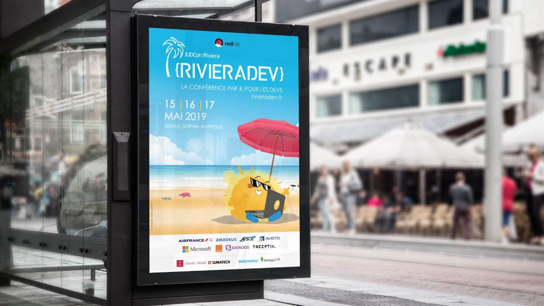 Affiche du Riviera Dev © Carmin