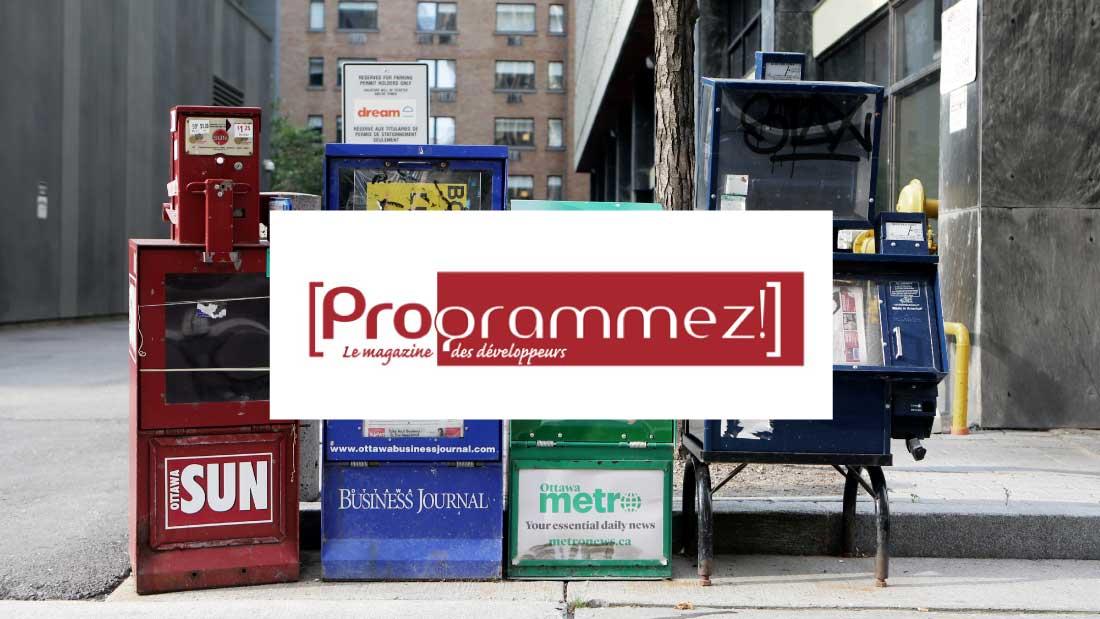 Programmez, le magazine des développeurs