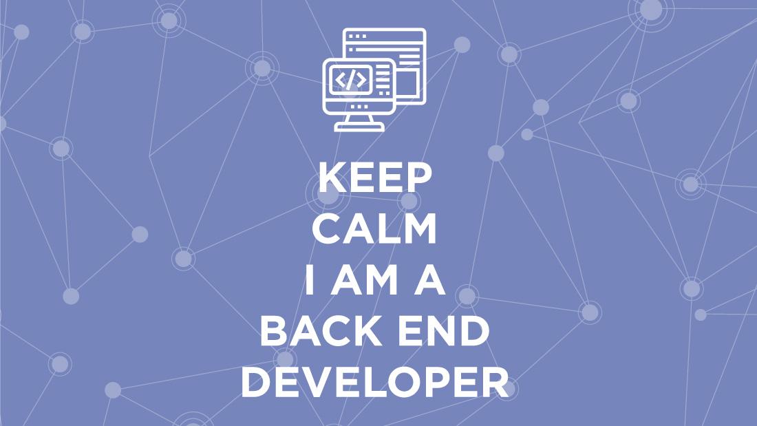 Back-end developer