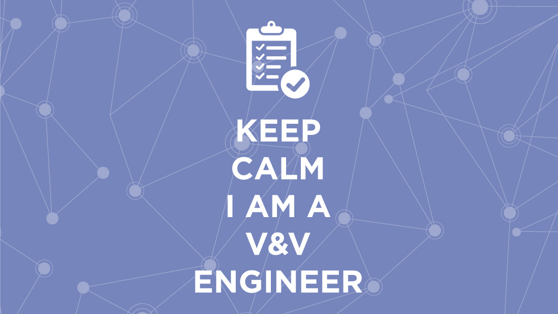 V&V engineer