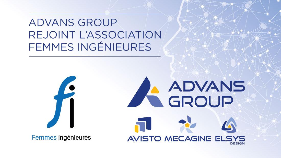 ADVANS Group rejoint l'association des Femmes Ingénieures